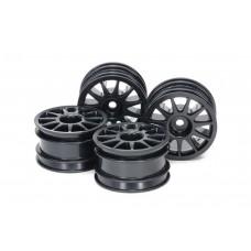 M-Chassis Wheel Tam51665 Black 11-Spoke (4)