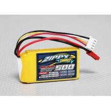 Battery ZIPPY Compact 500mAh 3S 25C Lipo Pack