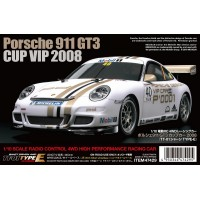 C Tam47429 R/C 1/10 Porsche 911 GT3 Cup VIP 2008 (TT01E) LIMITED EDITION