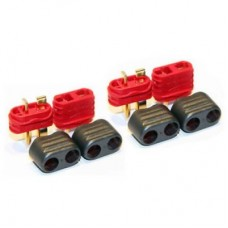Battery Deans Style Plug T Connector Male/Female [2 pairs]