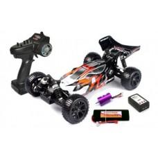 RH1017/74 1/10 R/C Spirit EBL RTR Brushless Electric Buggy (Black/White)