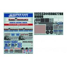 Tam54844 1/14 R/C Racing Truck Stickers