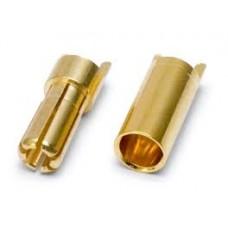 Battery 6mm Banana plugs [3 pairs] with Heatshrink.