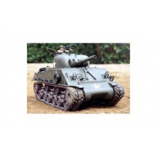 Tank R/C 1/16 US M4 Sherman 105mm Howitzer with Full-Option Kit