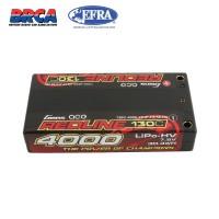 Battery Hardcase Gens ace Redline Series 4000mAh 7.6V 130C 2S1P HV Shorty Lipo Battery