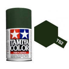 Paint TS-02 Dark Green (For Hard Plastic)