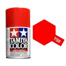 Paint TS-08 Italian Red (For Hard Plastic)