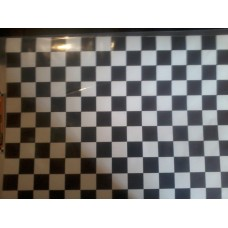 Decal Checkered Fag - RB0005