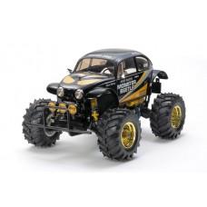 C Tam47419 R/C 1/10 Monster Beetle (Black Edition)