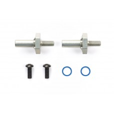 M-Chassis Tam54996 M-Chassis Leight Weight 1-Piece Aluminium Axle & Hub