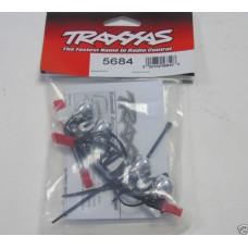 HK LED Traxxas 5684 Chrome LED Lightbar with Bright White LED Lights