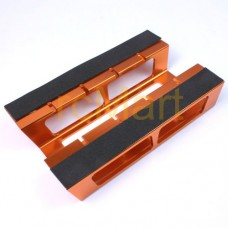 YT-0109OR Aluminum Car Setting Stand (Orange) for 1:10 On Road Cars