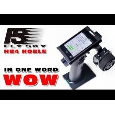 Fly Sky FS-NB4+FS-TR4 2.4G 4CH Noble Radio Transmitter