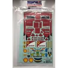 Tam11420624 Tamiya 51523 Ferrari F2012 Spare Sticker Set (F104)