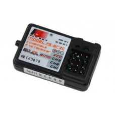 Fly Sky 2.4GHz 3 Channel Receiver GR3E (For GT2 & GT3)