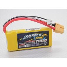 Battery ZIPPY Compact 1000mAh 3S 25C Lipo Pack