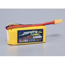 Battery ZIPPY Compact 1000mAh 3S 35C Lipo Pack