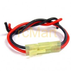 Battery Mini Tamiya Connector With Silicone Wire Set